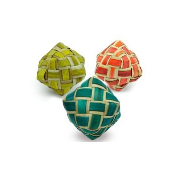 Coloured Woven Cube