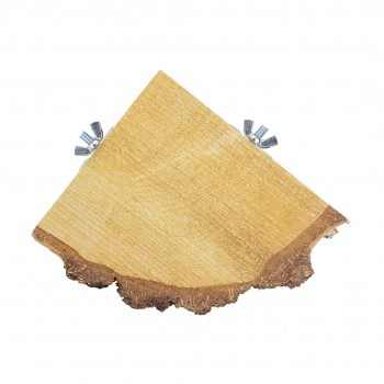 Quarter Wood Slice