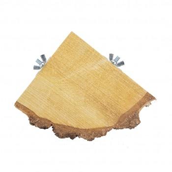 Quarter Wood Slice